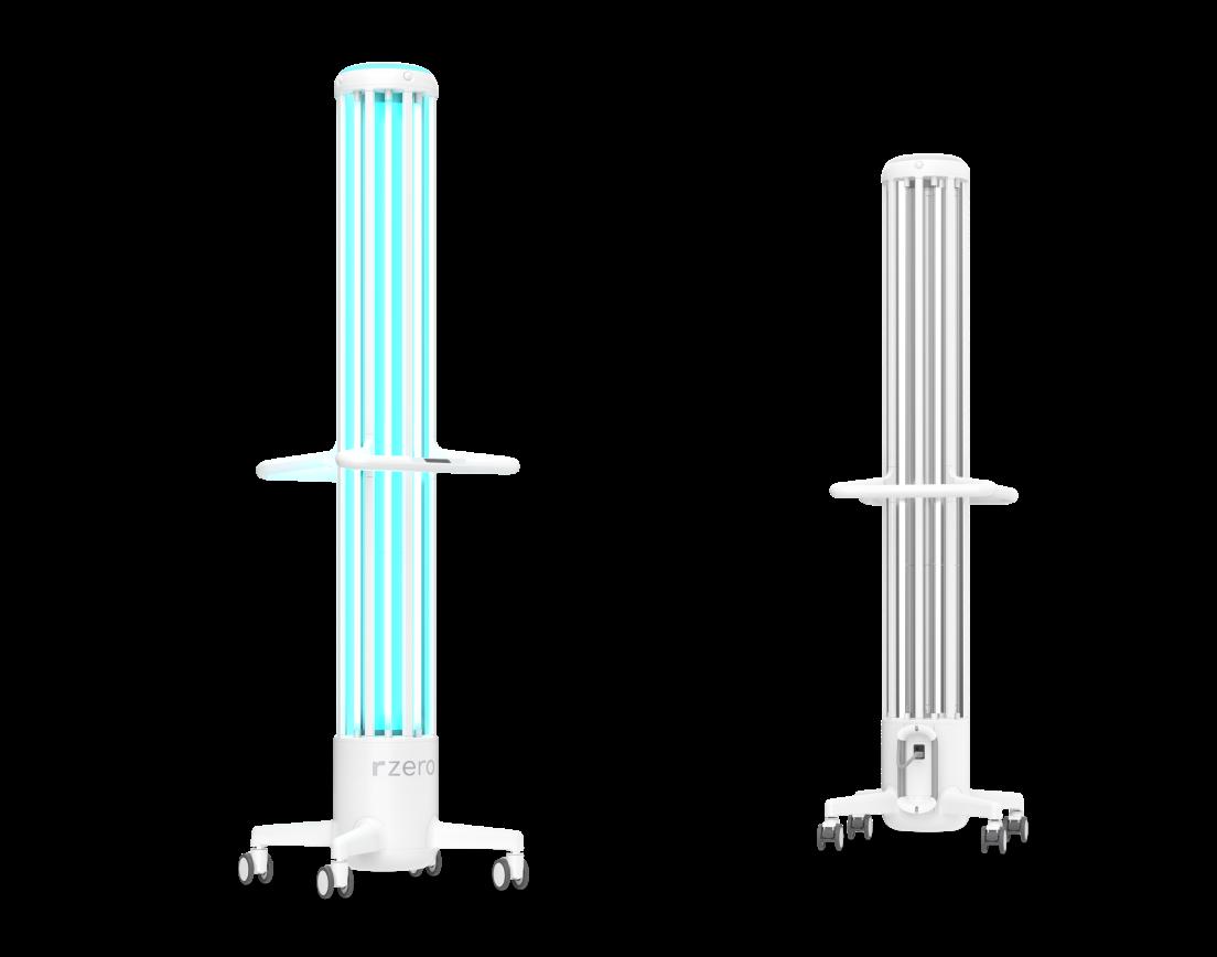 R zero UV-C disinfection